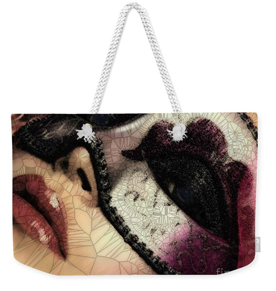 Digital Weekender Tote Bag