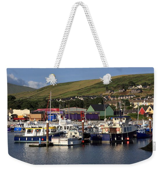 Dingle Harbour County Kerry Ireland Weekender Tote Bag