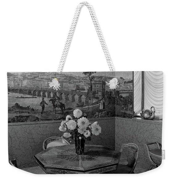 Dining Room In Helena Rubinstein's Home Weekender Tote Bag
