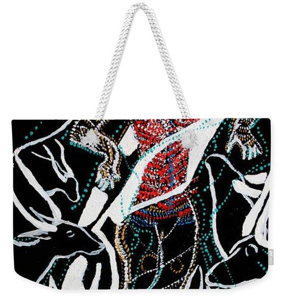 Dinka Dance Weekender Tote Bag