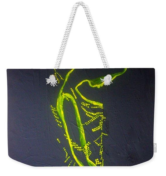 Dinka Painted Lady Weekender Tote Bag