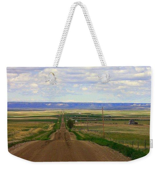 Dirt Road To Forever Weekender Tote Bag