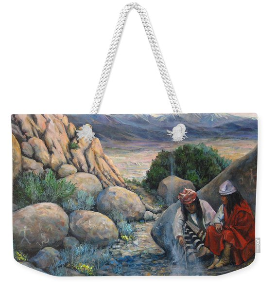 Discussion Weekender Tote Bag