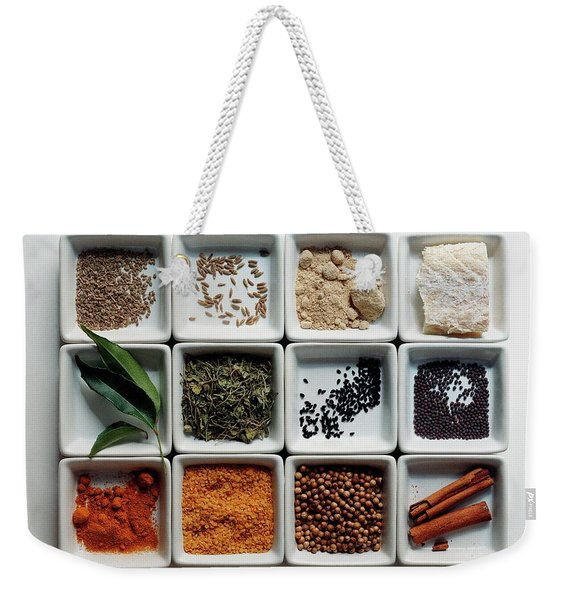 Dishes Of Spices Weekender Tote Bag