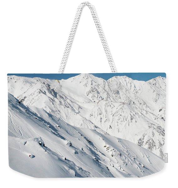 Distant View Of Sandra Hillen Weekender Tote Bag