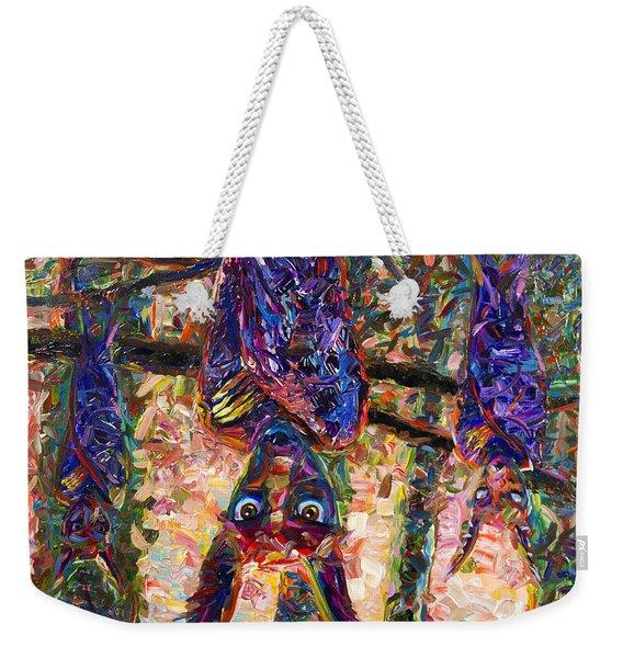 Disturbed Weekender Tote Bag