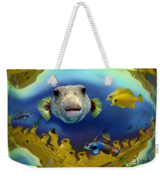Diver's Perspective Weekender Tote Bag
