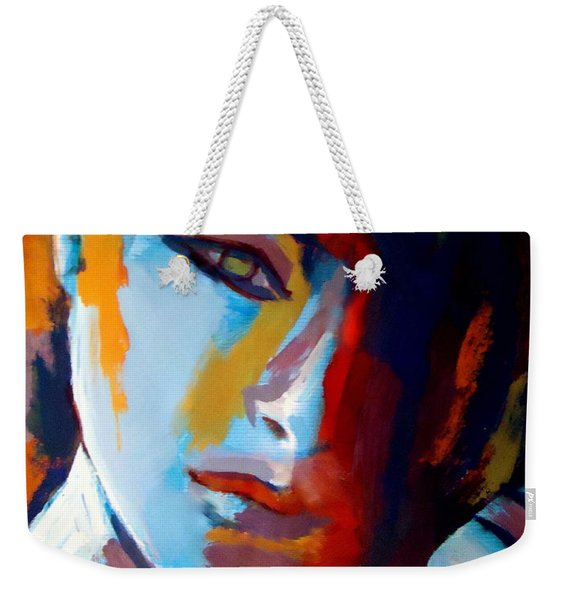Divided Weekender Tote Bag