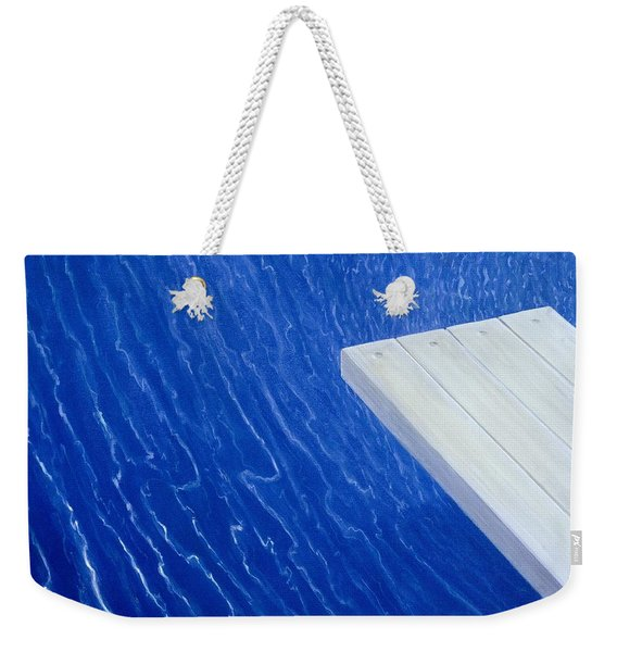 Diving Board 2004 Weekender Tote Bag