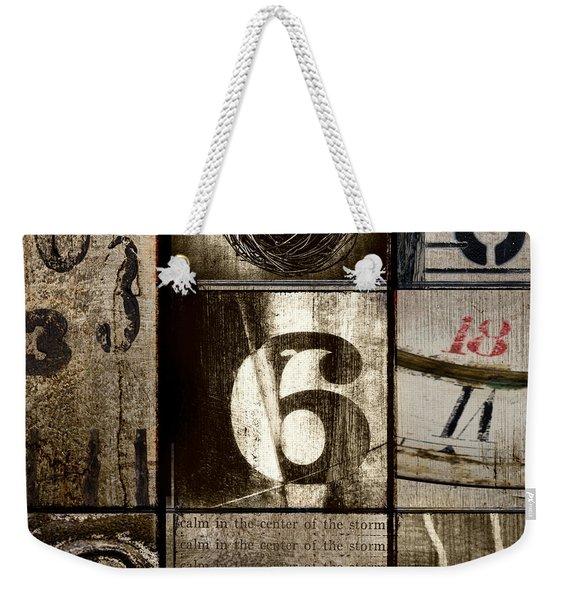 Divisible By Three Weekender Tote Bag