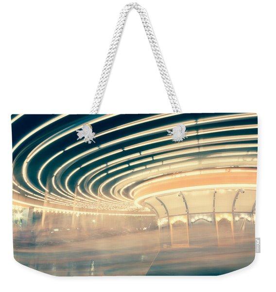 Dizzy Lights Weekender Tote Bag