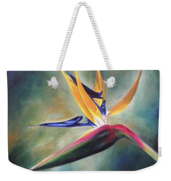 Dj's Flower Weekender Tote Bag