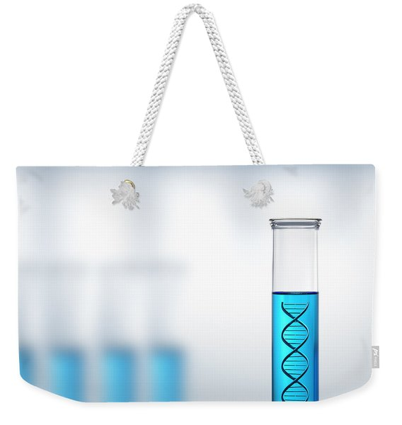 Dna Research Or Testing In A Laboratory Weekender Tote Bag