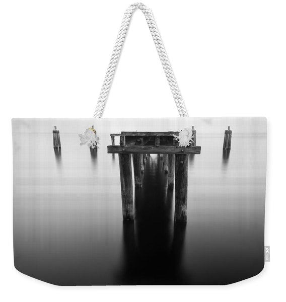 Dock At Twilight Weekender Tote Bag
