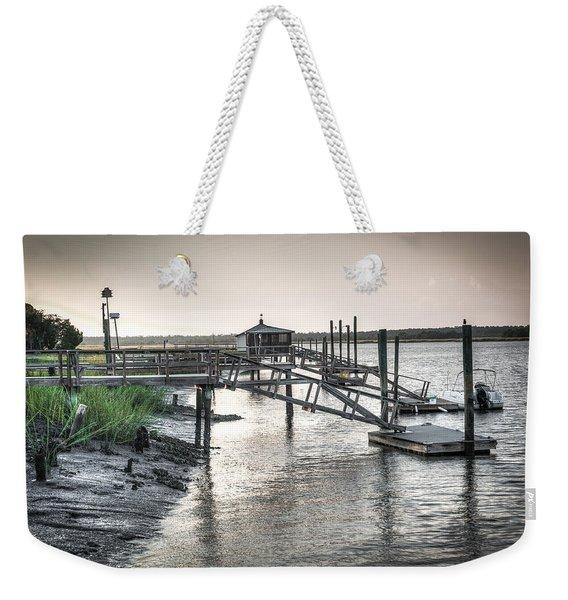 Docks Of The Bull River Weekender Tote Bag