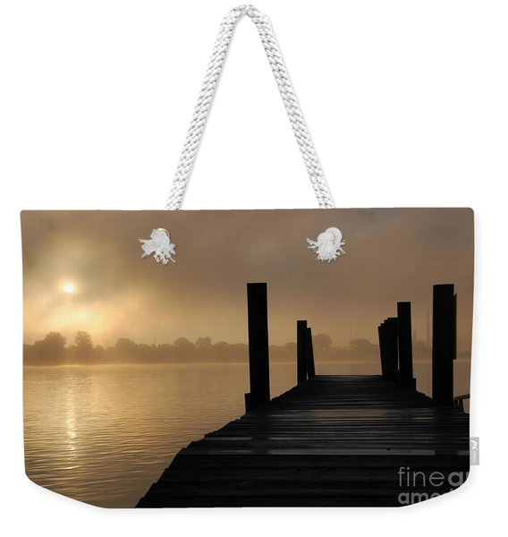 Dockside And A Good Morning Weekender Tote Bag