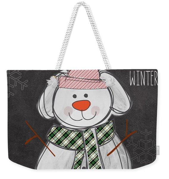 Dog Days  Weekender Tote Bag