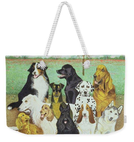 Dog Watch Weekender Tote Bag
