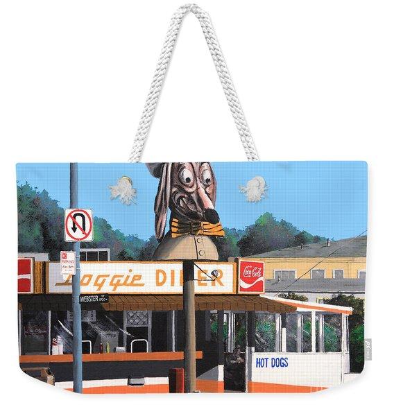 Doggie Diner 1986 Weekender Tote Bag