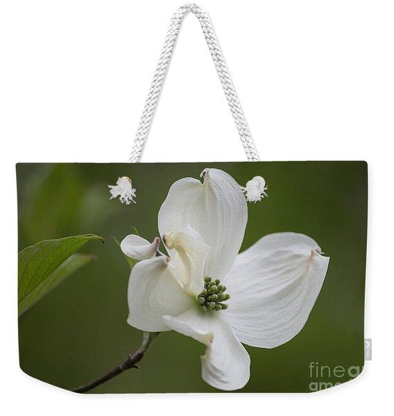 Dogwood Blossom Weekender Tote Bag
