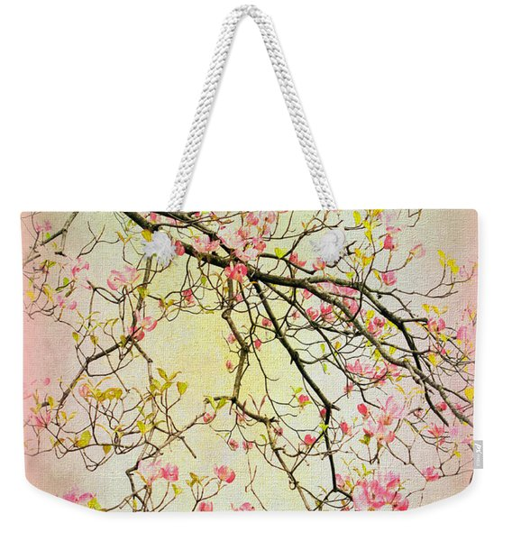 Dogwood Canvas 4 Weekender Tote Bag