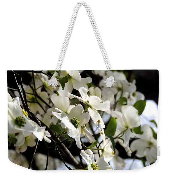 Dogwoods In The Spring Weekender Tote Bag
