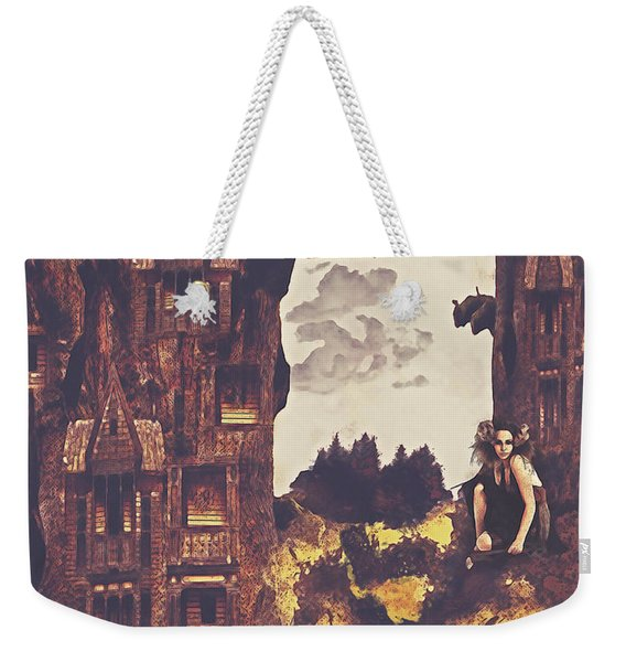 Dollhouse Forest Fantasy Weekender Tote Bag