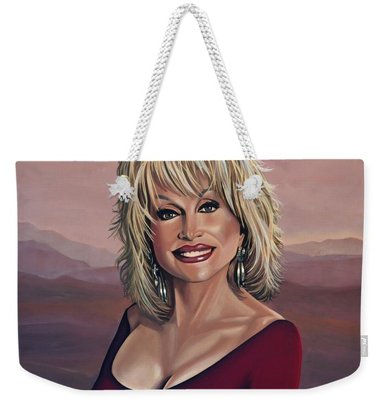 Dolly Parton 2 Weekender Tote Bag