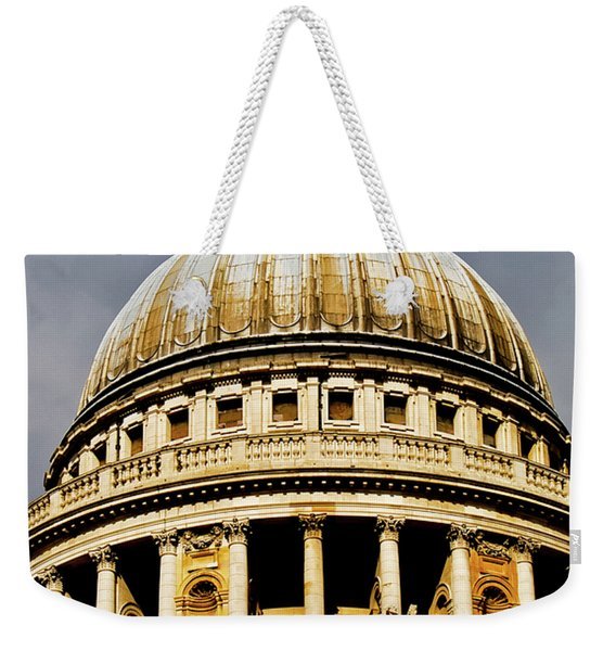 Dome Of St. Paul's Cathedral Weekender Tote Bag