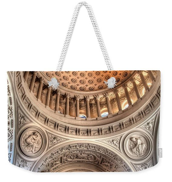 Domed Ornate Interior Weekender Tote Bag