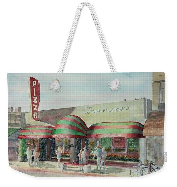 Domenicos In Long Beach Weekender Tote Bag