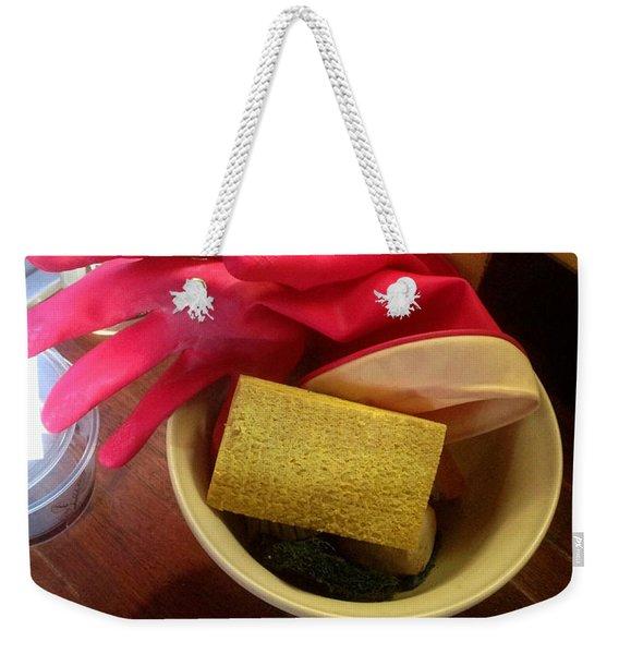 Domesticity Weekender Tote Bag