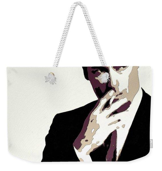 Don Draper Poster Art Weekender Tote Bag