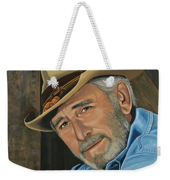 Don Williams Painting Weekender Tote Bag