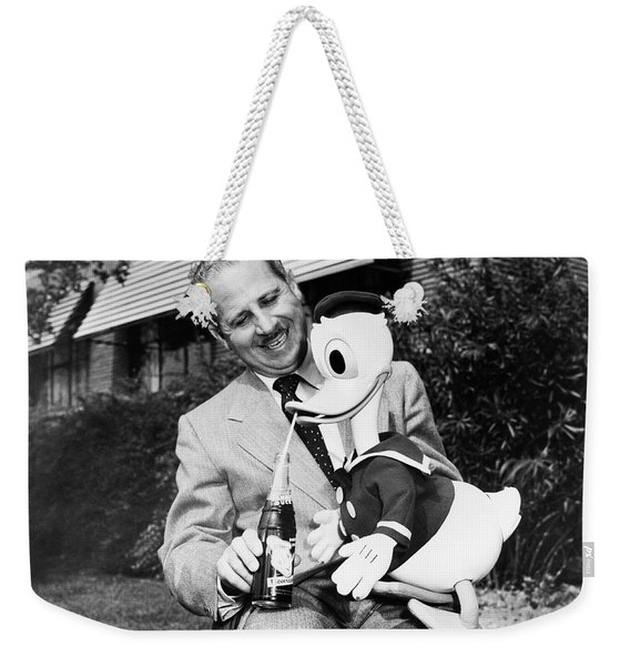 Donald Duck Lime Cola Weekender Tote Bag