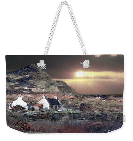 Donegal Sunset Weekender Tote Bag