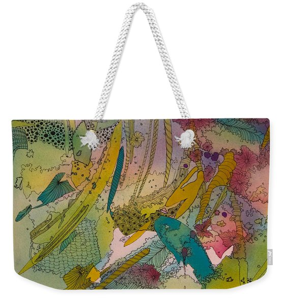 Doodles With Abstraction Weekender Tote Bag