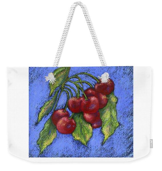 Door County Cherries Weekender Tote Bag