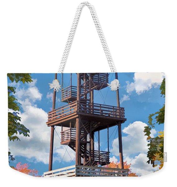 Door County Eagle Tower Peninsula State Park Weekender Tote Bag