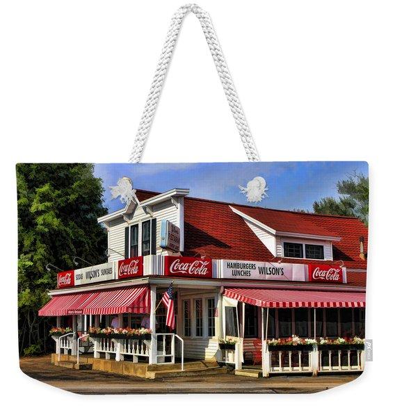 Door County Wilson's Ice Cream Store Weekender Tote Bag