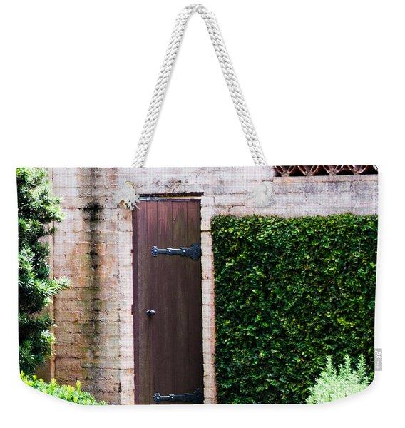 Door To The Past Weekender Tote Bag