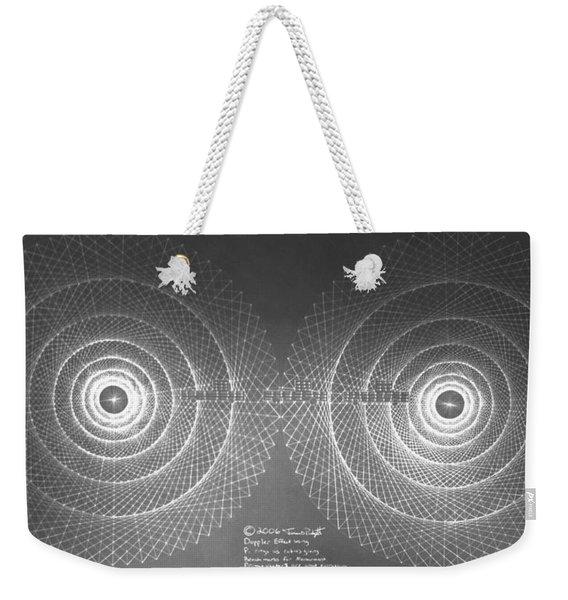 Doppler Effect Parallel Universes Weekender Tote Bag