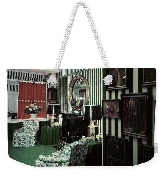 Dorothy Draper's Study Weekender Tote Bag