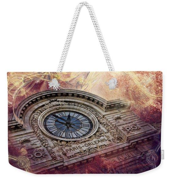 D'orsay Clock Paris Weekender Tote Bag
