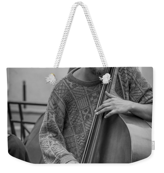 Double Bass Player Weekender Tote Bag