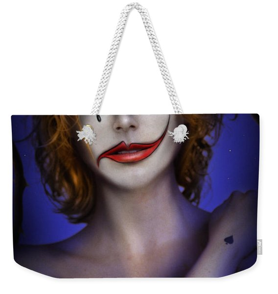 Double Face Weekender Tote Bag