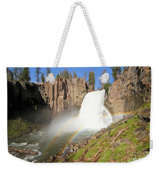 Double Rainbow Falls Weekender Tote Bag