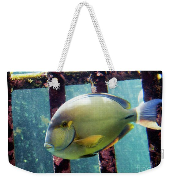 Down At The Shipwreck Weekender Tote Bag