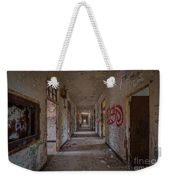 Down The Hall Weekender Tote Bag