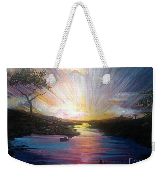 Down To The River Weekender Tote Bag